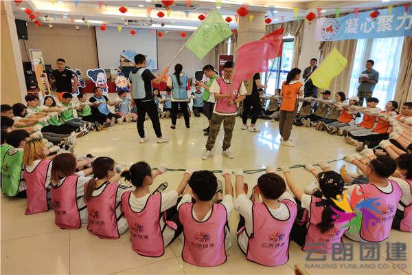 南京夏季拓展训练——悦吉餐饮室内拓展培训活动