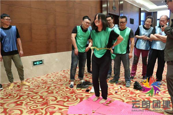 南京职工拓展训练—海澜室内拓展培训活动